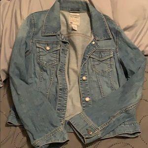 Old navy jean jacket. Lighter wash